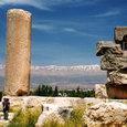 10 雪のレバノン山脈