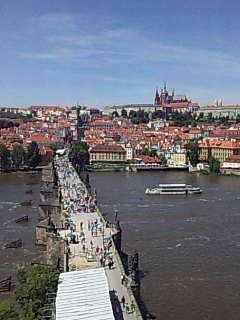 プラハにいます