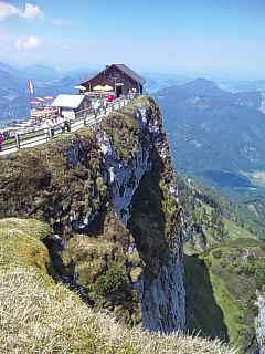シャーフベルク山にいます